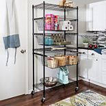 Honey-Can-Do Sports Equipment Storage Shelving Rack