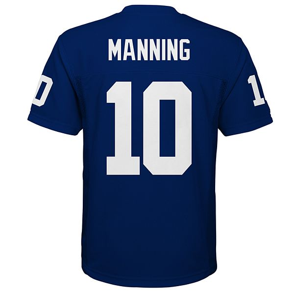 Boys 8-20 New York Giants Eli Manning Jersey