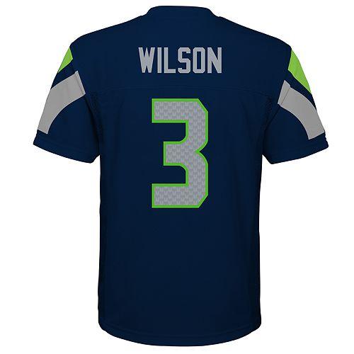 size 40 6b365 eb41a Boys 8-20 Seattle Seahawks Russell Wilson Jersey