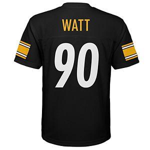 uk availability 7e0a9 1e86c Boys 8-20 Pittsburgh Steelers T. J. Watt Replica Jersey