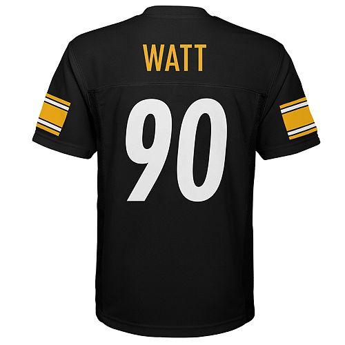 pick up 9a2e5 a3e79 Boys 8-20 Pittsburgh Steelers T. J. Watt Jersey