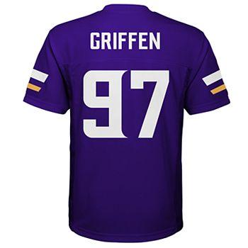 reputable site b445e 8dc90 Boys 8-20 Minnesota Vikings Everson Griffen Jersey