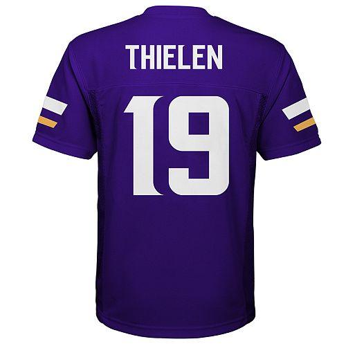 d6568878 Boys 8-20 Minnesota Vikings Adam Thielen Jersey