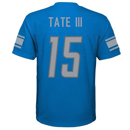 Boys 8-20 Detroit Lions Golden Tate Jersey
