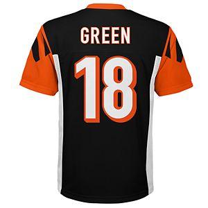 ff2da79b Boys 8-20 Cincinnati Bengals AJ Green NFL Replica Jersey