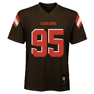 Boys 8-20 Cleveland Browns Myles Garrett Jersey
