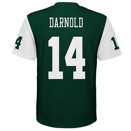 big sale 23ee2 24ba8 Boys 8-20 New York Jets Sam Darnold Jersey