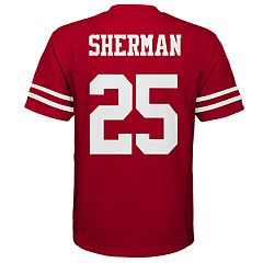 Boys 8-20 San Francisco 49ers Richard Sherman Jersey