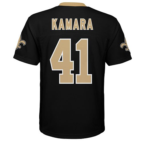 official photos c66f6 9ff38 Boys 8-20 New Orleans Saints Alvin Kamara Jersey