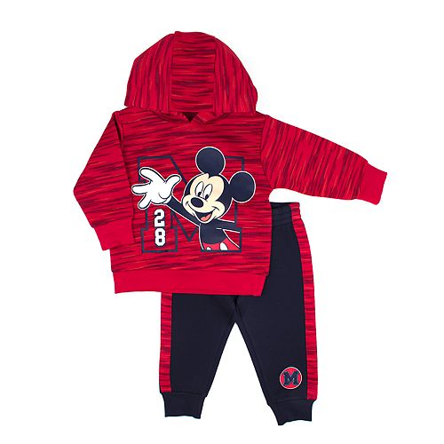 fba75a8b0 Disney's Mickey Mouse Toddler Boy Pullover Hoodie & Jogger Pants Set