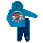"""Toddler Boy Paw Patrol """"Pups in Action"""" Marshall, Chase & Rubble Pullover Hoodie & Jogger Pants Set"""