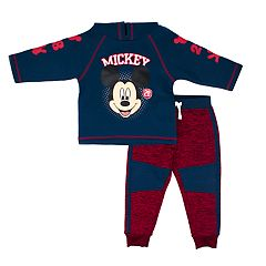 Disney's Mickey Mouse Toddler Boy Pullover Hoodie & Pants Set