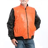 Men's Franchise Club 4-in-1 Lambskin Leather Bomber Jacket