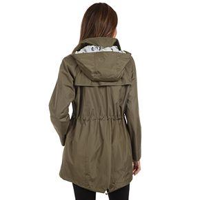 Women's Fleet Street Hooded Poplin Anorak Jacket