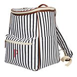 Cathy's Concepts Monogram Striped Backpack Cooler