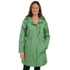 Women's Fleet Street Hooded Anorak Rain Jacket