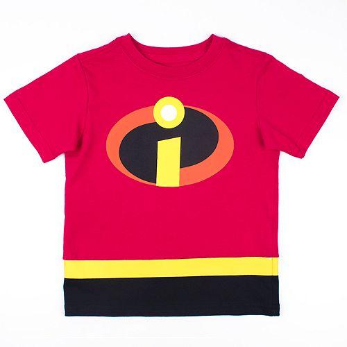 Disney / Pixar The Incredibles Toddler Boy Logo Graphic Tee
