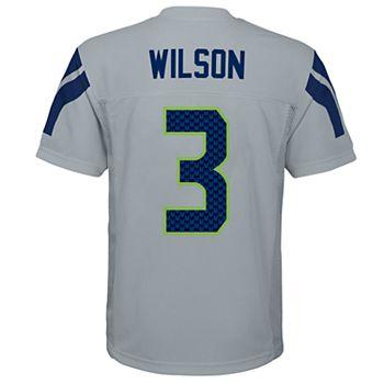 Seahawks 8-20 Wilson Boys Seattle Jersey Russell