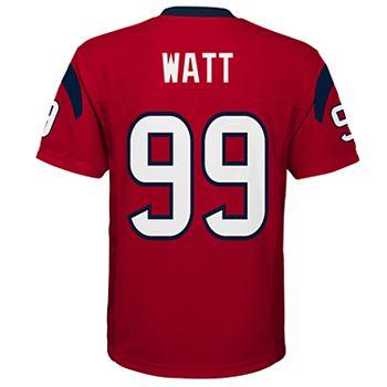 classic fit 85f47 8a412 Boys 8-20 Houston Texans J. J. Watt Jersey