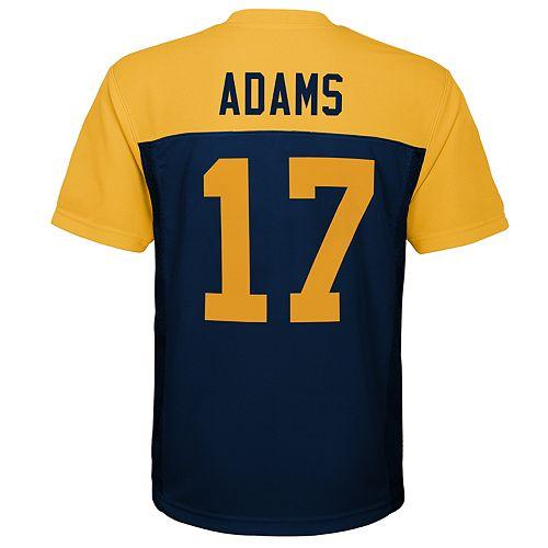 online retailer 1c8c6 5e60a Boys 8-20 Green Bay Packers Davante Adams Jersey