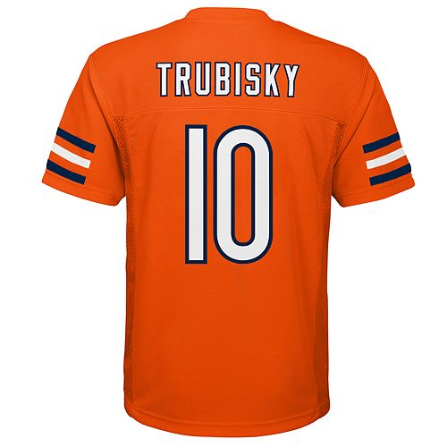 on sale 991de 6bb43 Boys 8-20 Chicago Bears Mitch Trubisky Jersey