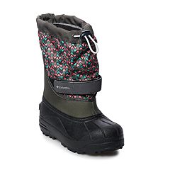 Columbia Powerbug Plus II Girls' Waterproof Winter Boots