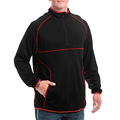 Men's Franchise Club A1814 Aero Quarter-Zip Performance Pullover Jacket