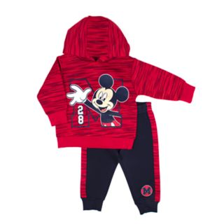 Disney's Mickey Mouse Baby Boy Pullover Hoodie & Jogger Pants Set