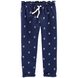 Baby Girl Carter's Ruffle Waist Printed Pants