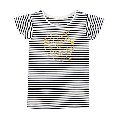 Baby Girl Carter's Flutter Sleeve Graphic Tee
