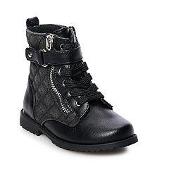 Rachel Shoes Lil Kirsten Toddler Girls' Combat Boots