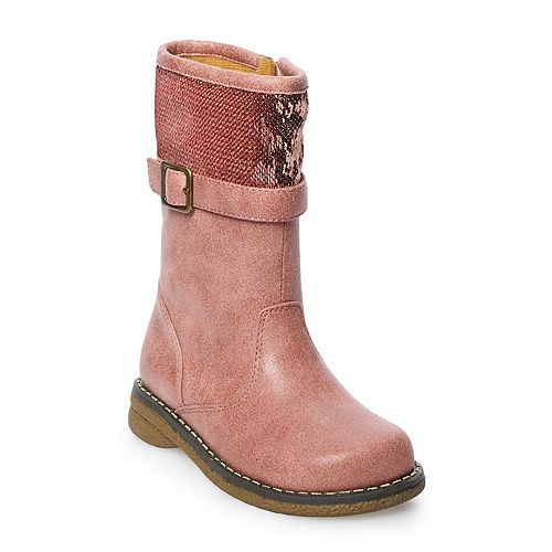 Rachel Shoes Kendra Toddler Girls' Buckle Boots