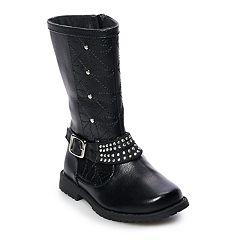Rachel Shoes Lil Robin Toddler Girls' Studded Boots