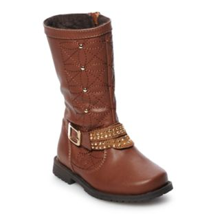 Rachel Shoes Lil Robin Toddler Girls' Studded Boots