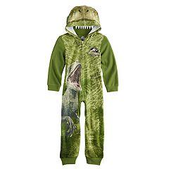 Boys 6-12 Jurassic World Union Suit Costume