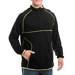 Men's Franchise Club A1814 Aero Quarter-Zip Performance Pullover Jacket