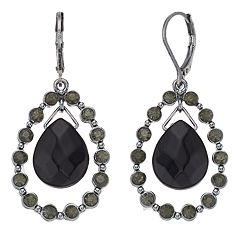 Napier Orbital Teardrop Earrings