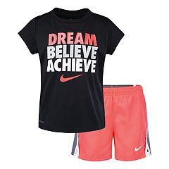 Girls 4-6x Nike Dri-FIT Tee & Shorts Set