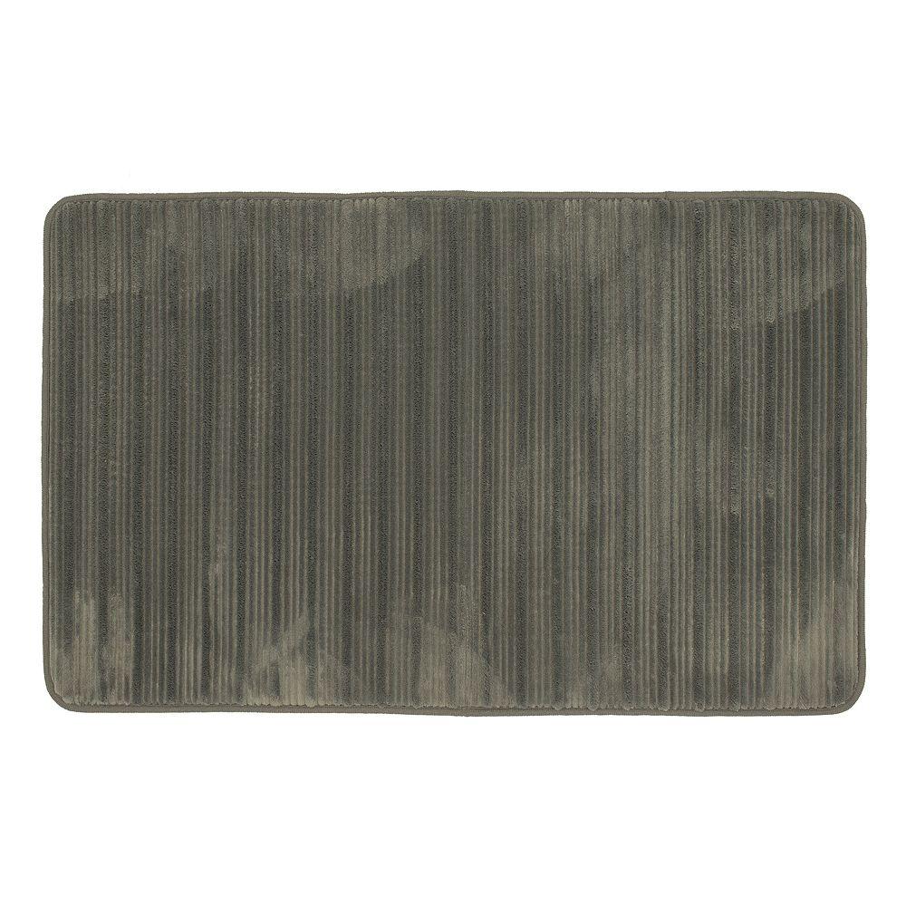 Mohawk® Home Hi-Low Stripe Memory Foam Bath Rug