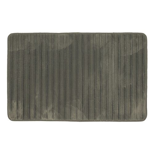 Mohawk® Home Hi-Low Stripe Memory Foam Bath Rug