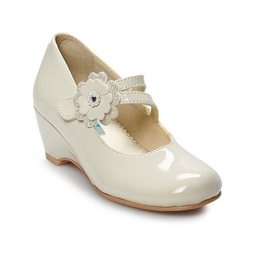 Rachel Shoes Susannah Girls' Wedge Mary Jane Shoes