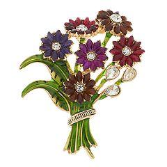 Napier Flower Bouquet Pin