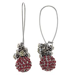 Simply Vera Vera Wang Simulated Crystal Ball Drop Earrings