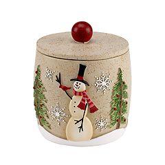 Avanti Tall Snowmen Jar