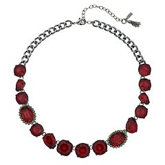 Simply Vera Vera Wang Red Collar Necklace