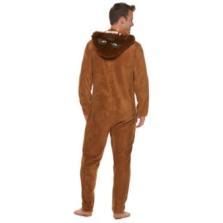 Men's Star Wars Chewbacca Hooded Union Suit