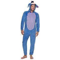 Men's Winnie the Pooh Eeyore Hooded Union Suit