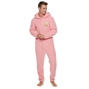 Men's A Christmas Story Hooded Fleece Bunny Union Suit