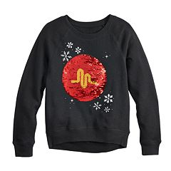 Girls 7-16 Musical.ly Flippy Sequin Graphic Sweatshirt