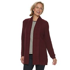 Women's Croft & Barrow® Cozy Open-Front Cardigan